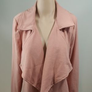 Windsor Peach Winfall Slev Shrug Jacket Size SMALL